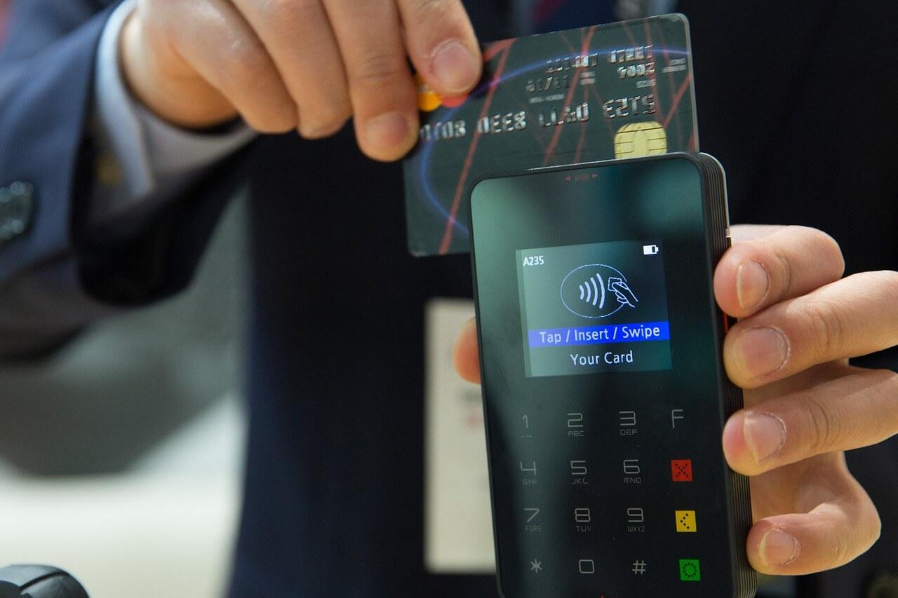 Kreditkarten Slider
